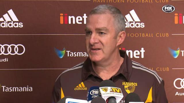 Will Hawthorn holdfirm?